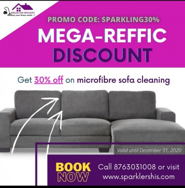 30% OFF SOFA CLEANING