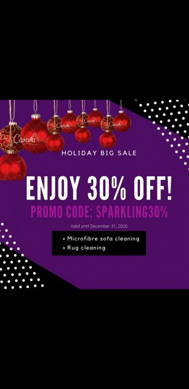 30% OFF Rug Cleaning