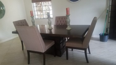 ASHLEY DINING SET FOR IMMEDIATE SALE