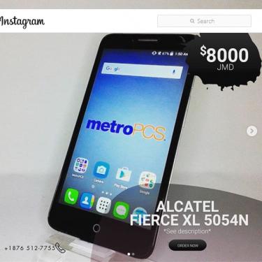 Alcatel Fierce XL 5054N, Unlocked