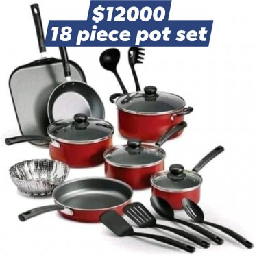 New Home? This 16 Piece Plate Set Is Perfect!