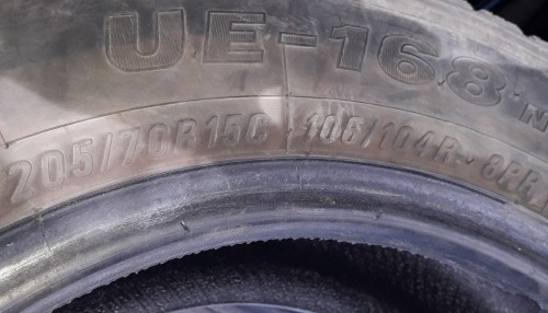 MAXXIS COMMERCIAL 205/70/15 TIRES FOR 6K A ONE.