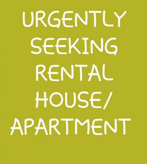 Urgently Seeking A Unfurnished 2 Bedroom For Rent.