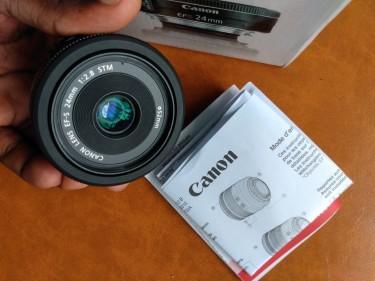 Canon 24mm 2.8 STM LENS NEW