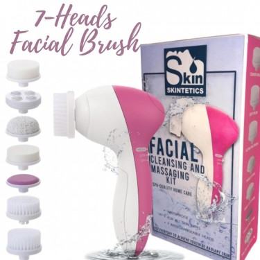 7 Pcs. Facial Cleansing Brush