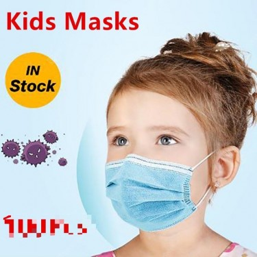 KIDS BLUE FACE MASK