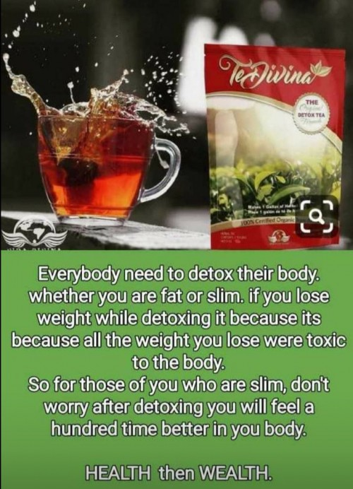 TeDivina Tea (detoxing The Body, Weight Loss Etc)