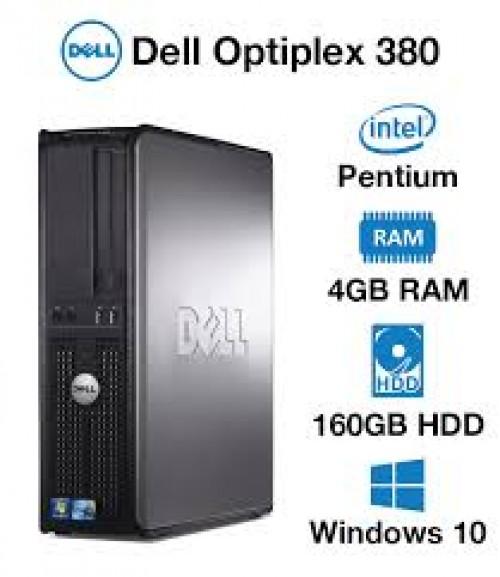 Dell Optiplex 380 4G Ram 250 GB HD
