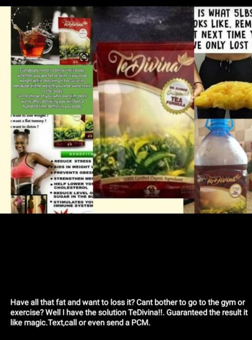 TeDivina Tea(no Gym,no Exciser, Result Like Magic)