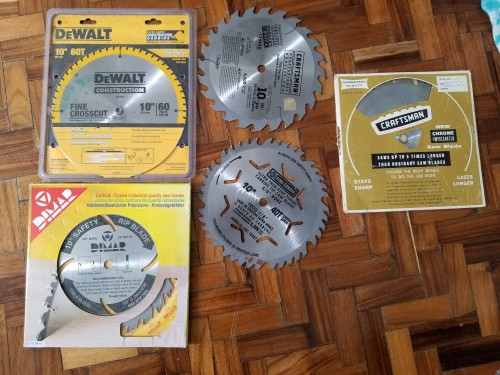 All Types Of Saw Blades