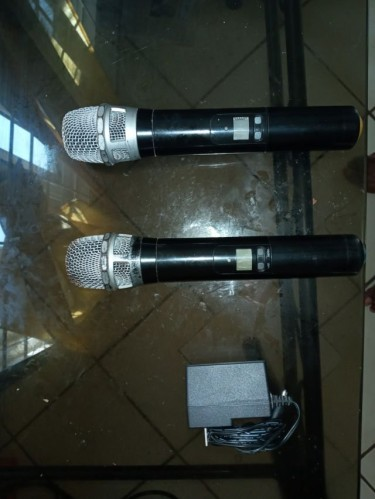 GTD Audio G-622 With 2 Wireless Mics UHF