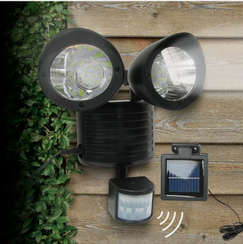 Motion Detector Solar Powered Security Light