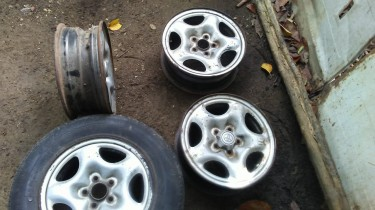 Toyota Stock Rims