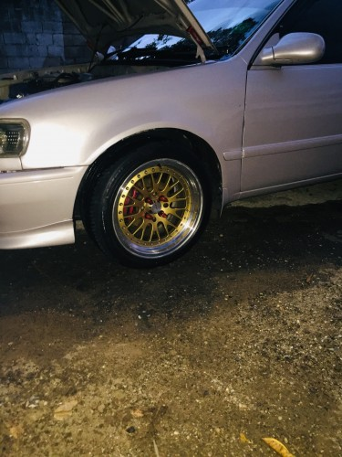 1998 E111 Toyota Corolla