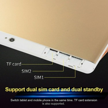 10.1inch Tab 8+128g Android 8.0 GPS+ WiFi Dual SIM