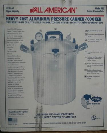 30 Qt Industrial Pressure Cooker