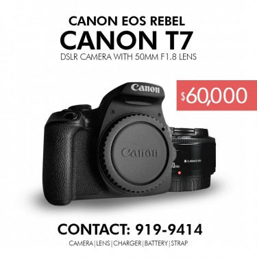 Canon EOS T7/1500D Touch Screen