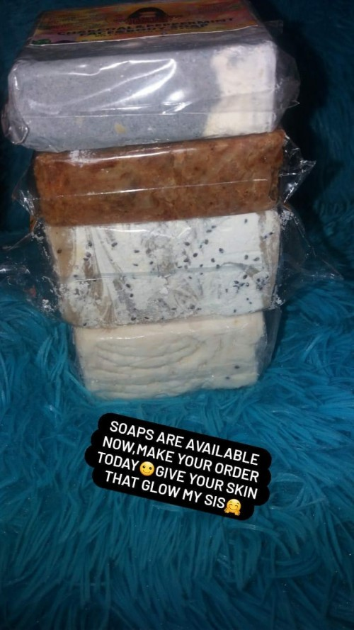 Face And Body Soap, Made From Natural Herbs
