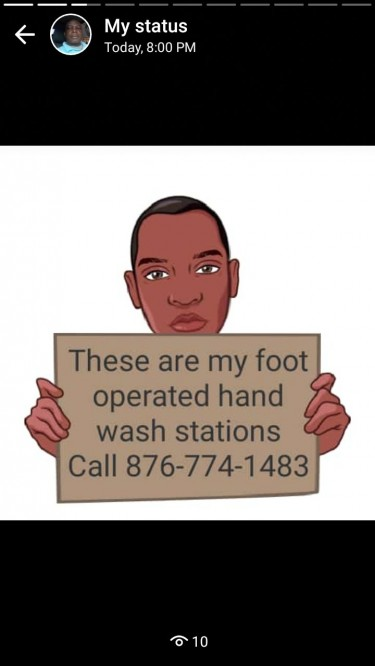Foot-operated Hand Wash Stations