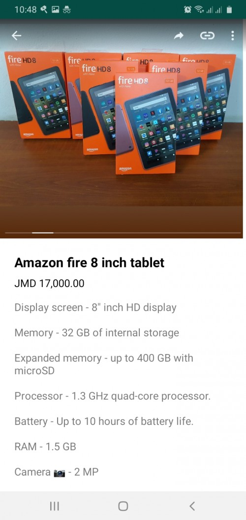 Amazon Fire 7 8 10