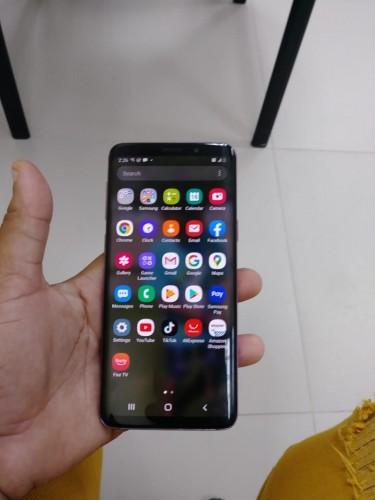 Samsung Galaxy S9 No Fault New Condition