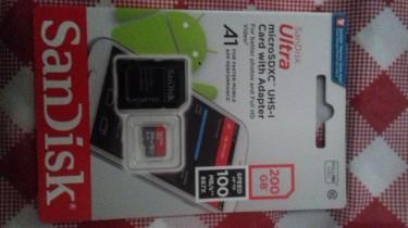 200GB San Disk Memory Card Sale!