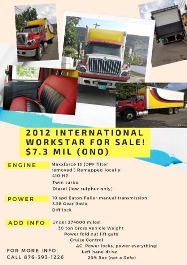2012 International Workstar