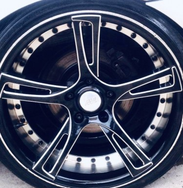Rare!! Black Bmw 19 Inch, Sport Rims & Tyres