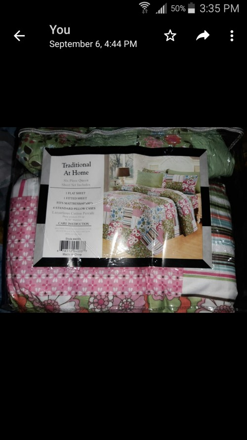 Queen Size Sheet For Sale
