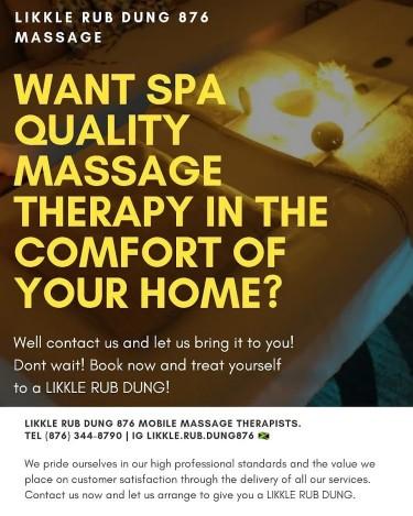 Likkle RubDung 876 Therapeutic Spa Quality Massage