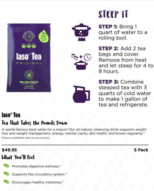 (IASO TEA) Powerful Herb Tea That Works Magic!!
