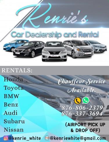 Kenrie's Car Dealership And Rentals