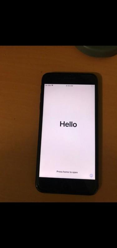 Icloud Locked Iphone 7 Plus 32gig