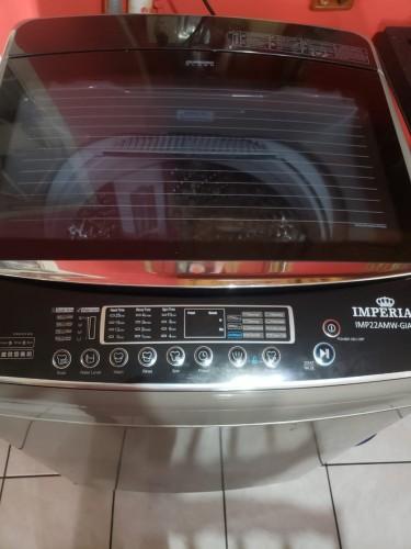 Washing Machine/King Size Bed/pillow Top Mattress