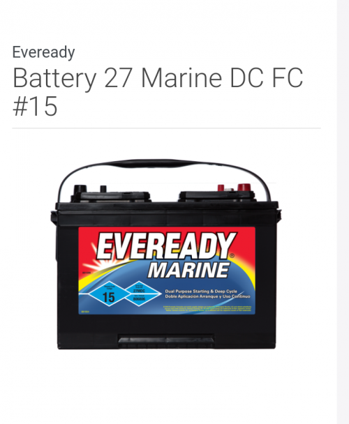Deep Cycle And Marine Batteries