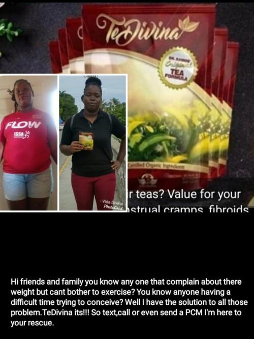 TeDivina Tea Weight And Tummy Loss,menstrual Cramp