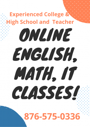 English & IT  Teacher Online And In-Home