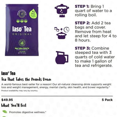 (IASO TEA)best Selling. Detox +weight Loss Tea