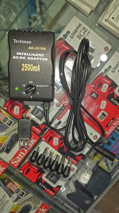 Universal Ac/Dc Adaptor 2500mA