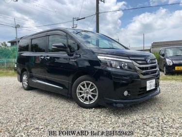 Used 2014 TOYOTA VOXY BH559429 For Sale Image Use