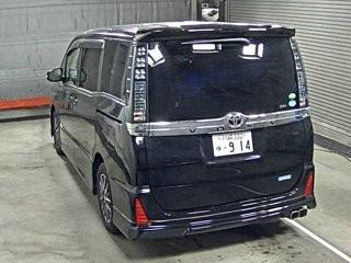 TOYOTA VOXY 2014 BLACK ZRR80W ZS 7 PERSON IA  2000