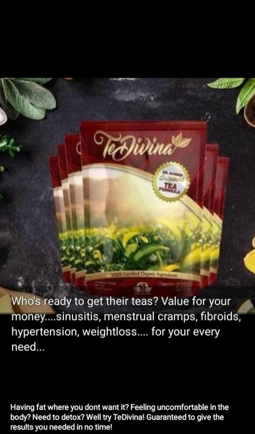 TEDIVINA TEA ( Weight And Tummy Loss,conceiving