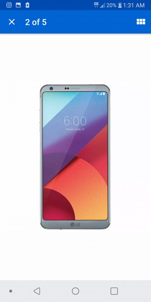 LG G6 PHONE
