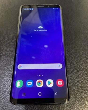Samsung Galaxy S9 64gb Black No Fault