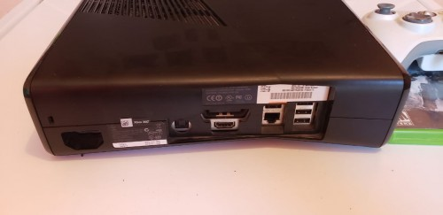 Used Xbox 360 With 4 Games On Hardrive For Sale