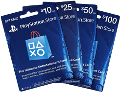 PlayStation Gift Cards For Sale! Instant Delivery