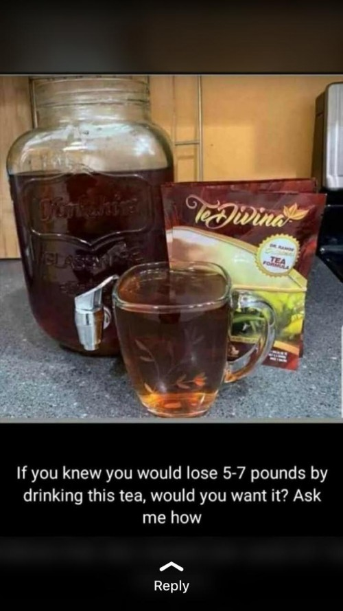 TEDIVINA TEA ( Weight Loss,loss Sleep,tummy Loss