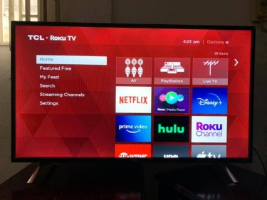 43 Inch TCL Smart Tv, 1080p HD Comes With Netflix