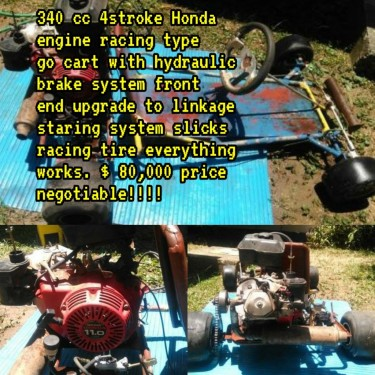 340 Cc 4 Stroke Honda Engine Racing Type Go Kart