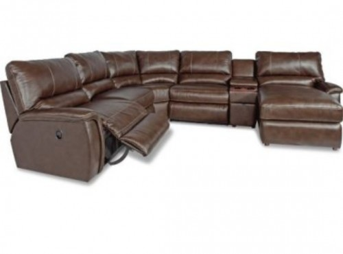 Leather 5 Piece Sectional Couch